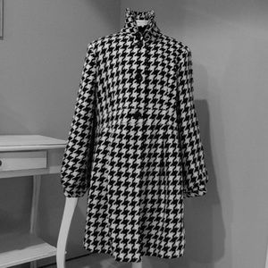 Target Maternity Houndstooth Coat